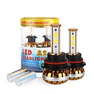 2017 9004 nouvelle puce kit phare 120W 9800lm conduit cob ampoules 6000K 8000K lampes de lumière paire