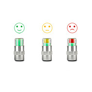 4 lastikler basınç ekran göstergesi supap sapı kapak sensör göz uyarı