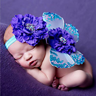 Newborn Baby's  Cute Cotton Knitting  The  Butterfly Suit