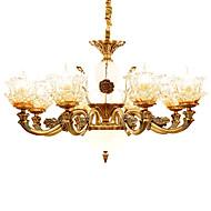 Lustry ,  Tradiční klasika Ostatní vlastnost for Křišťál Kov Obývací pokoj Ložnice Jídelna studovna či kancelář