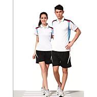 Set di vestiti/Completi-Badminton-Per donna-Traspirante Comodo-Bianco Rosso Nero