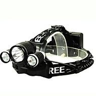 Kerékpár világítás LED - Kerékpározás Újratölthető Szuper könnyű Könnyű 18650 Lumen Akkumulátor Természetes fehérMindennapokra