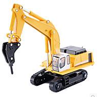 רכבי משיכה אחורה צעצוע בניה ודגם מכונות חפירה מתכת