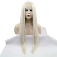 2017 Sylvia синтетический парик фронта шнурка легкие светлые прямые термостойкие синтетические парики