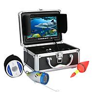 7 inch 1000tvl onderwater vissen videocamera kit 12 stuks LED-lampen video onder water vissen camera
