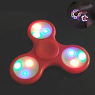 edc tri være rastløs hånd spinner være rastløs legetøj plast LED-blitz lys lang tid voksen myre stress stærk hånd finger spinner