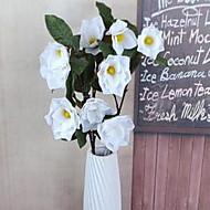 1 Větev Vlákno Others Květina na zem Umělé květiny 15*15*97