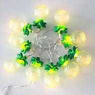 1PCS 5V 1.2M 10 leds Warm White Holiday Decoration Christmas Decorative LED String Lights