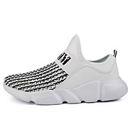 Men's Slip on Running Sneakers Mesh Breathable Cushion Hollow Heat Rejection Sneakers Sports Shoes Over Size 39-45