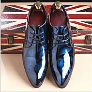 menns støvler våren høst vinter komfort skinn kontor&karriere uformell sort brun