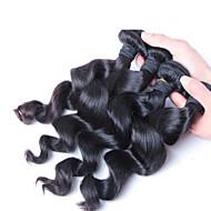 4 pcs/ lot Loose Wave 100% Malaysian Hair Bundles, Free Shipping Virgin Brazilian Malaysian Peruvian Hair Wholesale
