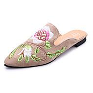 Women's Clogs & Mules Spring Summer Fall Comfort PU Casual Low Heel