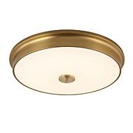 צמודי תקרה ,  מודרני / חדיש מסורתי/ קלאסי סגנון חלוד/בקתה גס וינטאג' רטרו מוזהב מאפיין for LED מתכת חדר שינה חדר אוכל מטבח כניסה
