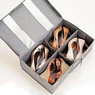 קופסאות אחסון יחידות אחסון תיקי נעליים לא ארוג עםמאפיין הוא עם מכסה , ל נעליים