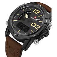 NAVIFORCE MasculinoRelógio Esportivo Relógio Militar Relógio Elegante Relógio de Moda Relógio de Pulso Bracele Relógio Único Criativo