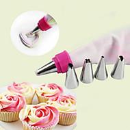 zdobení Tool pro Cake pro Cupcake Pučící Kov DIY