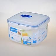 kithenware vacumm vierkante vorm plastic container diepvriezer beveiligde verpakking