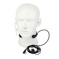 365 acessórios PTT garganta microfone de ouvido microfone walkie talkie universal auscultadores