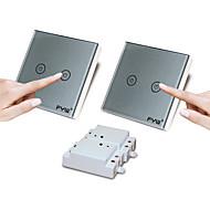 fyw dobbel kontroll to gjengen berøring fjernstyringsenheten bytter ikke noe behov for å kutte veggen ledninger kan limes på et hvilket