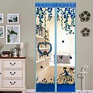 モスキートカーテン ポリスター とともに特徴 あります 暗号化と磁気 , のために ドア&窓
