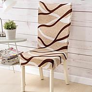 Coupe Ajustée Classique Housse de Chaise , Polyester Type de tissu Literie