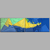 Hand-Painted Sea Landscape Oil Painting Two Panel Canvas Oil Painting Per Panel Size 60*90CM