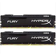 Kingston RAM 8GBのキット(最大4GB * 2) DDR4の2400MHzの デスクトップメモリ HX424C15FBK2/8 PNP