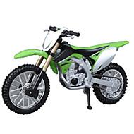 Motorräder Spielzeuge Auto Spielzeug 1:18 ABS Grün Model & Building Toy