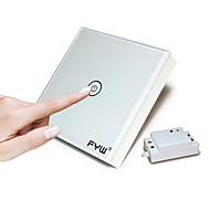 fyw en gäng touch med fjärrkontroll växla inget behov av att skära väggen ledningar kan klistras på något placeindoor fjärrkontroll kan