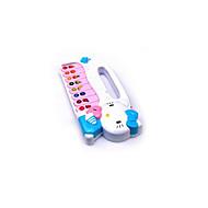 איבר פלסטיק אלקטרוני צעצוע מוסיקה לבן / ירוק / ורוד / כתומה לילדים