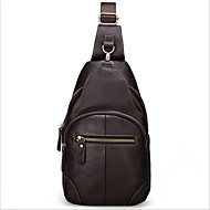 Men Cowhide Messenger Shoulder Bag / Mobile Phone Bag / Travel Bag