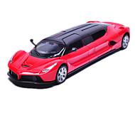 トラック プルバック式乗り物おもちゃ 車のおもちゃ メタル シルバー レッド プラモデル&組み立ておもちゃ