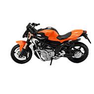 Motocicletă Jucarii Jucării auto 1:18 ABS Plastic Curcubeu