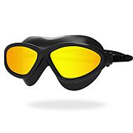 Zwembrillen Anti-condens Slijtvast Waterdicht Anti-UV Krasbestendig Breekbestendig Anti-Slip Band Beplating Silicagel PCOverige Geel Wit