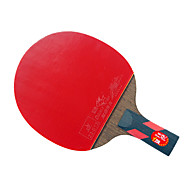 4 Sterne Ping Pang/Tischtennis-Schläger Ping Pang Holz Kurzer Griff Pickel