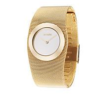 Dame ' Sat uz haljinu Modni sat Ručni satovi s mehanizmom za navijanje Japanski Kvarc Legura Grupa Elegantno Luksuzno Zlatna Zlatan