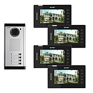 Actop 7 polegadas de vídeo a cores wired metal os melhores sistemas para edifícios segurança produto