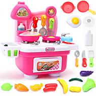Rol Yapma Oyunu Oyuncak Mutfak Takımları oyuncak Gıdalar Oyuncaklar Genç Erkek Genç Kız