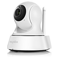 SANNCE 1.0 MP Indoor with Päivä yö IR-suodatin 64(Day Night Motion Detection Remote Access IR-leikkaus Wi-Fi Protected Setup Plug and play