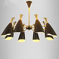 נברשות ,  מודרני / חדיש מסורתי/ קלאסי Electroplated מאפיין for סגנון קטן מעצבים מתכת חדר שינה חדר אוכל חדר עבודה / משרד