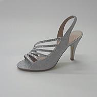Sandály-Třpytky-Na prst klub Boty-Dámské--Svatba Kancelář Party-Vysoký