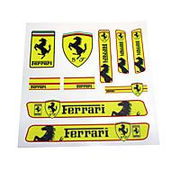 PVC Auto Sticker Decal Emblem Badge For Ferrari