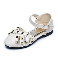 Sandály-Koženka-Pohodlné-Dívčí--Outdoor Kancelář Běžné Party-Plochá podrážka