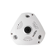 VESKYS® 960P 1.3MP 360 Degree HD Full View IP Network Security WiFi Camera FishEye