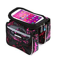FahrradtascheFahrradrahmentasche Fahrradlenkertasche Wasserdicht Regendicht tragbar Touchscreen Tasche für das Rad600D Ripstop Terylen