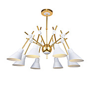 Lusteri ,  Modern/Comtemporary Traditional/Classic Electroplated svojstvo for Mini Style dizajneri MetalLiving Room Bedroom Dining Room