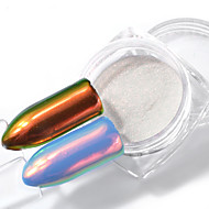 0.2g Unicorn Powder Mermaid Nail Art Chrome Pigment Manicure Decorations in Tip Glitters for Nails