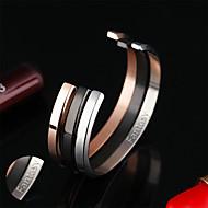 Armbänder-Edelstahl-Gold Silber Schwarz Rosé Orange