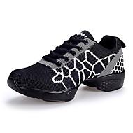 Sapatos de Dança(Branco Fúcsia Branco e Preto) -Feminino-Não Personalizável-Tênis de Dança