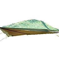 LYTOP/飞拓 3-4 henkilöä Teltta Kaksinkertainen Taitettava teltta Yksi huone teltta Fiberglass OxfordVedenkestävä Hengitettävyys